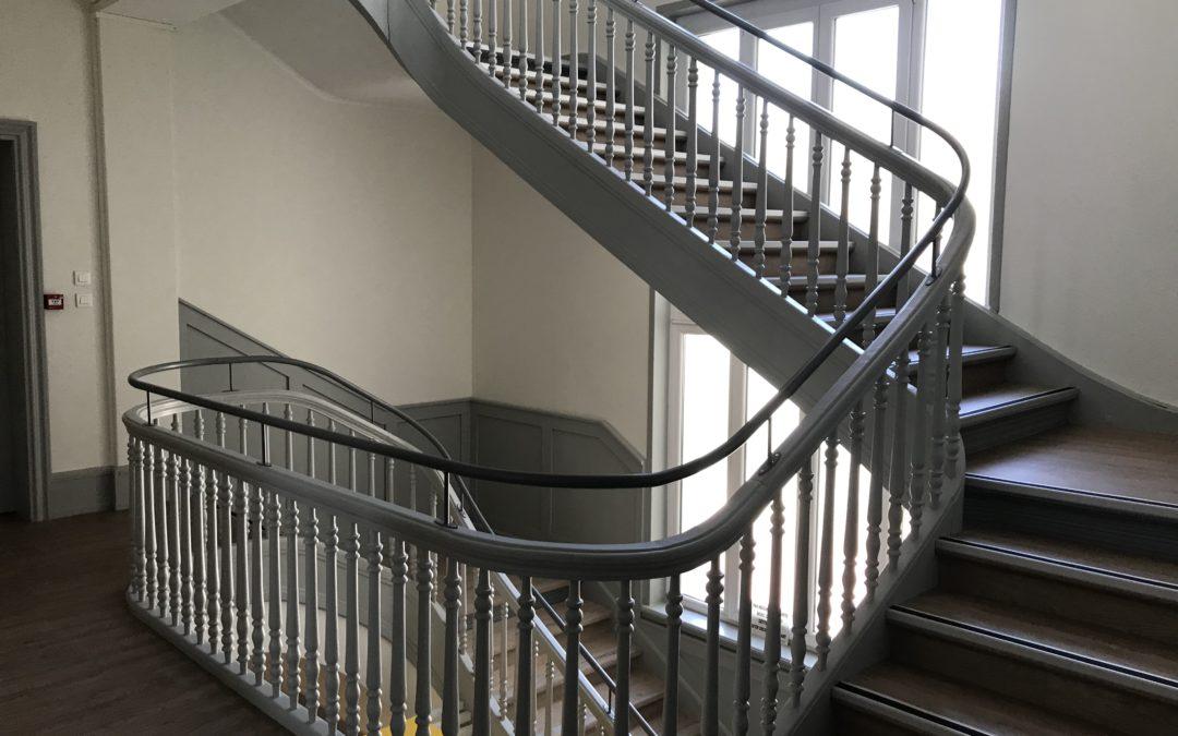Faites réaliser votre escalier métallique en Alsace par DMDH !